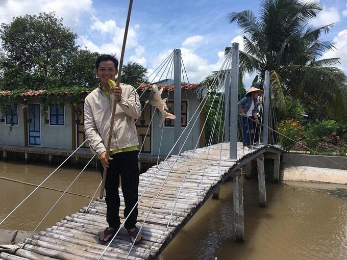 Dịch vụ câu cá giải trí tại Điền Lan Thôn Trang