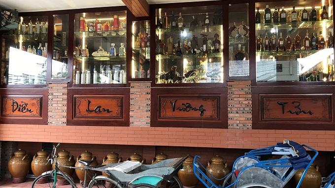 Hầm rượu – Điền Lan Vương Tửu