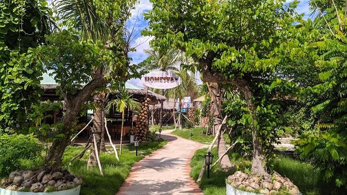 Khu lưu trú homestay tại khu du lịch Hạ Thảo