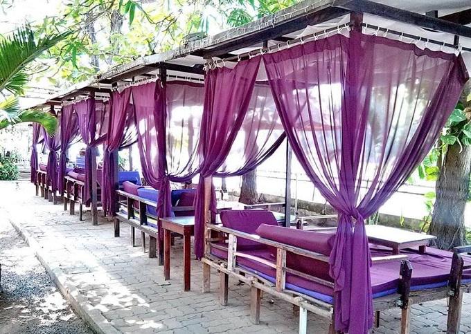 Cafe ven sông tại Nghênh Xuân Farmstay