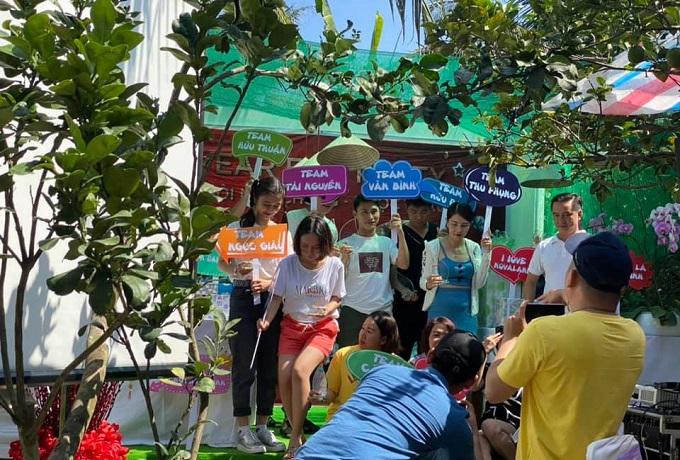 Team buiding tại Nghênh Xuân Farrmstay