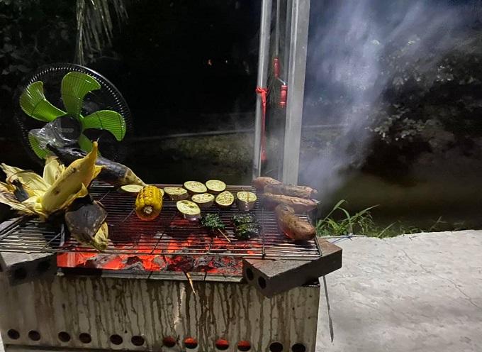 Tiệc nướng BBQ tại Nghênh Xuân Farm