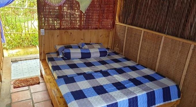 Phòng ngủ tại Về Nhà Chú Homestay