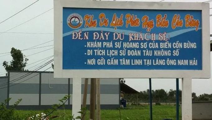 Đường đi Biển Cồn Bửng - Thạnh Phú Bến Tre