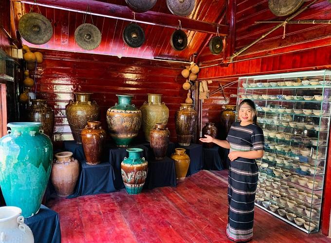Khu bảo tàng cổ vật văn hoá đời sống và văn hoá tâm linh