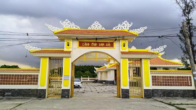 Lăng Ông Nam Hải ở Thạnh Phú - Bến Tre