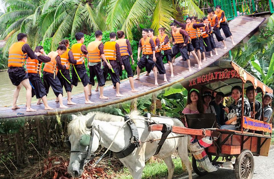 Tour du lịch Bến Tre: Lan Vương - Cồn Thới Sơn 1 ngày