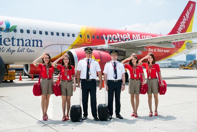 Các đường bay mới của Vietjet Air