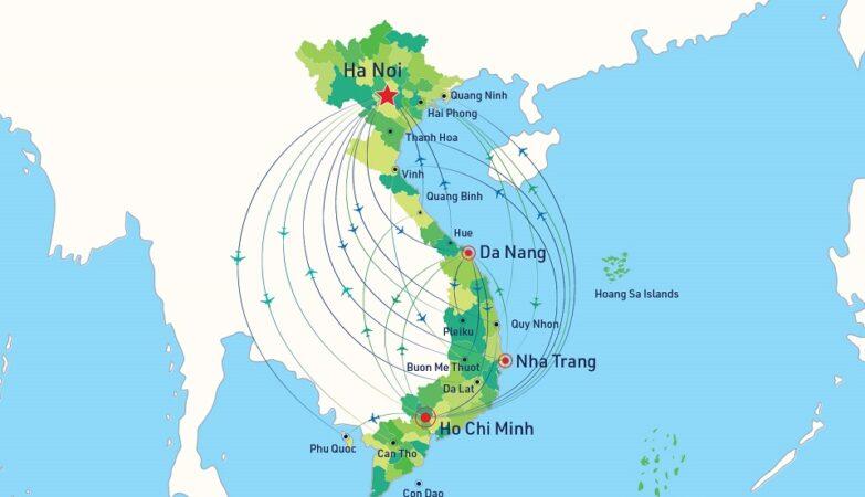 Các hãng hàng không Việt Nam mở nhiều đường bay mới