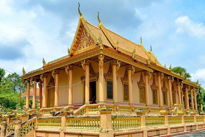 Chùa Kh'Leang Sóc Trăng – Di tích Kiến trúc nghệ thuật Quốc gia