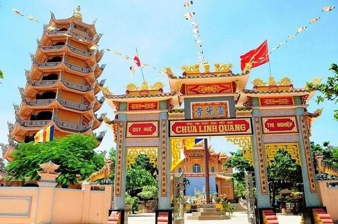 Chùa Linh Quang Bình Thuận – Ngôi chùa cổ nhất giữa biển khơi