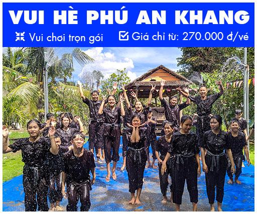 Chương trình tour trọn gói Phú An Khang 2020