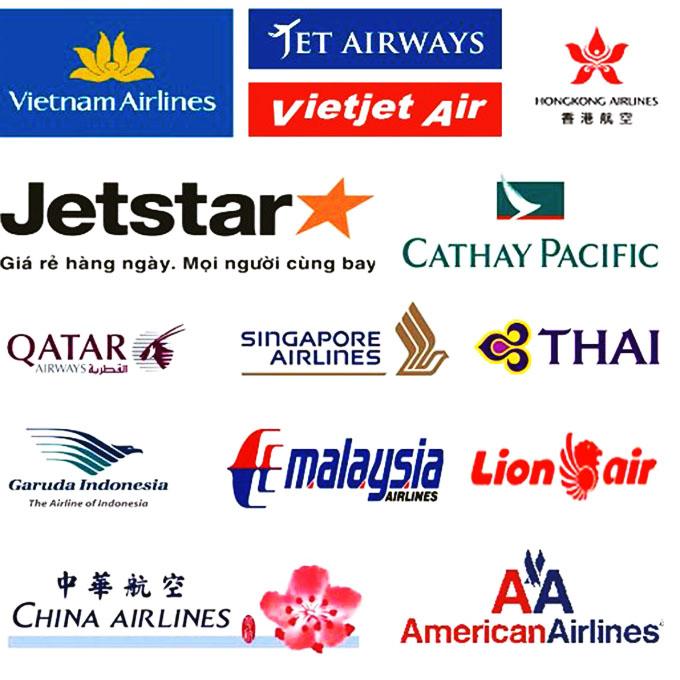 Du lịch Tôi và Bạn là đại lý vé máy bay của các hãng hàng không nổi tiếng
