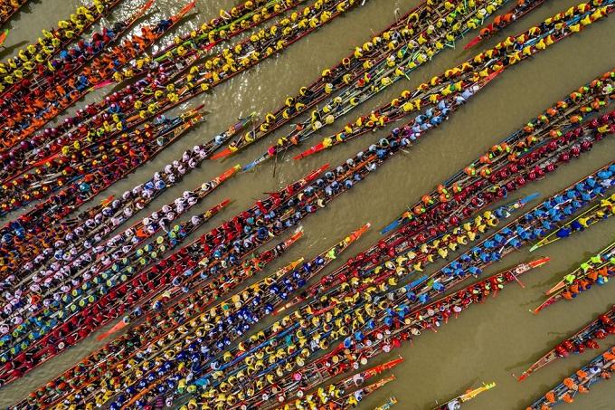 Hội Đua ghe Ngo là một hoạt động thể thao không thể thiếu trong Lễ hội Óoc Om Bóc