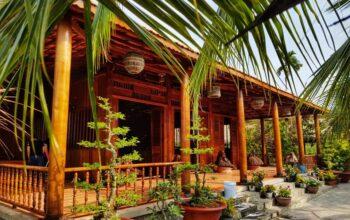 Khám phá Nhà Dừa được làm từ 4000 cây dừa ở Vĩnh Long