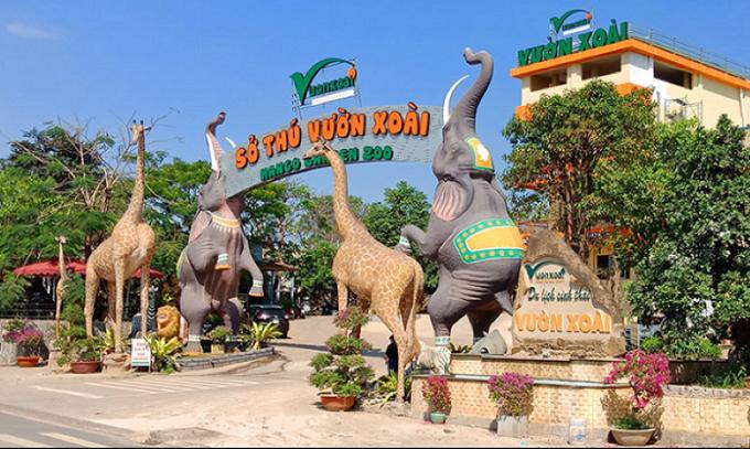 Khu du lịch sinh thái Vườn Xoài tại Đồng Nai