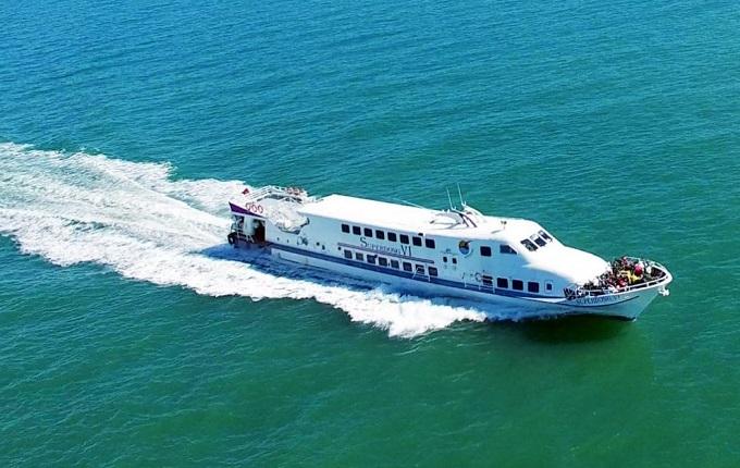 Tàu cao tốc ra đảo Phú Quý