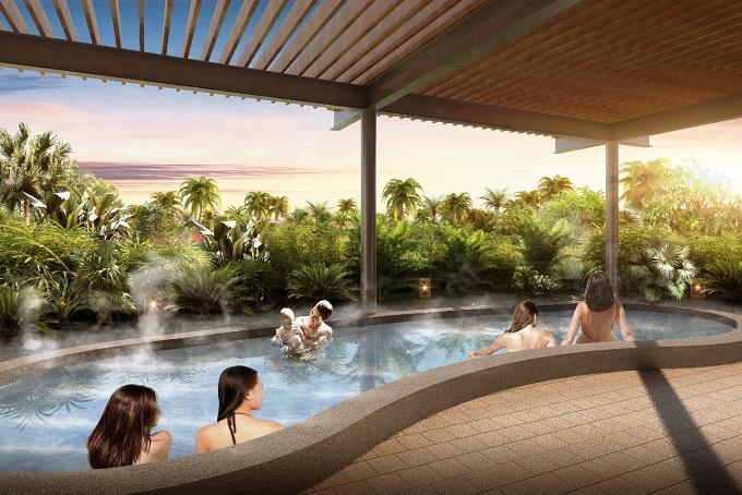 Tắm suối khoáng nóng tại Minera Hot Springs Bình Châu