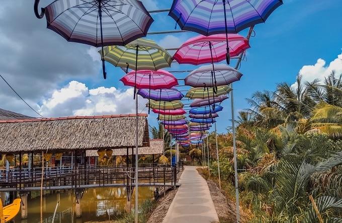 Điểm du lịch sinh thái Chín Sông - Thạnh Phú