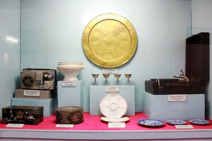 Hiện vật trưng bày trong không gian 'Đà Lạt xưa và nay'