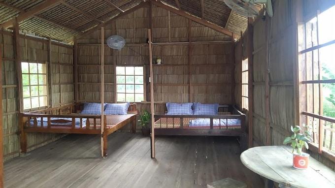 Homestay lưu trú tại Cồn Chim