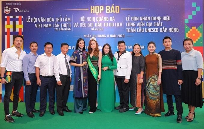Họp báo giới thiệu chương trình Lễ hội văn hóa thổ cẩm Việt Nam lần thứ II