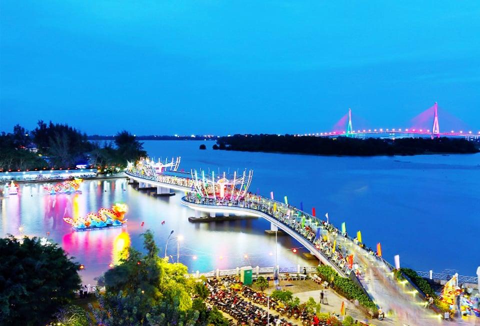 Ngày hội du lịch - Đêm hoa đăng Ninh Kiều, Cần Thơ lần IV năm 2020