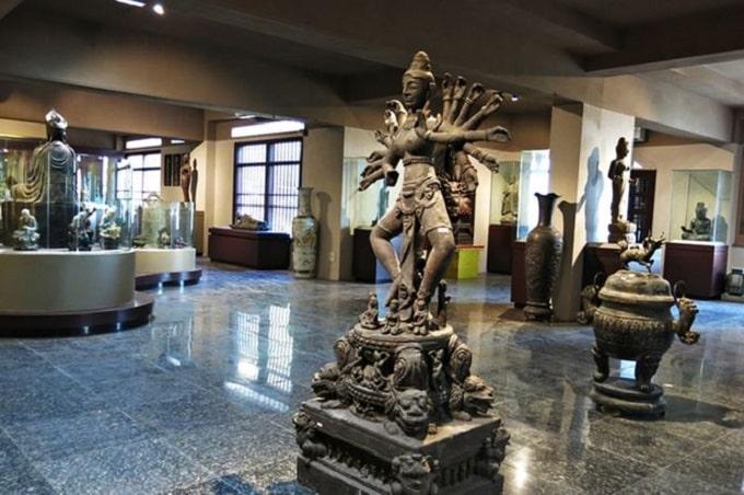 Bảo tàng Điêu khắc Chăm - một trong những điểm tham quan miễn phí tại Đà Nẵng trong năm 2021