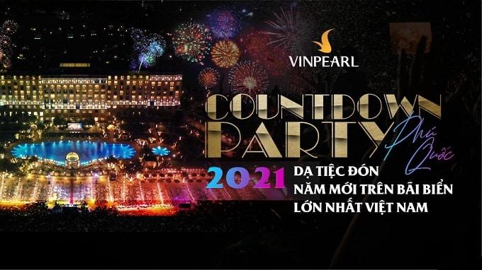 Countdown Party Phú Quốc 2021 – Đại nhạc hội quy tụ các ngôi sao hàng đầu
