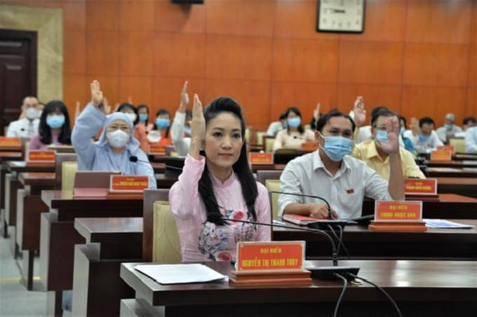 Đại biểu HĐND TP.HCM biểu quyết thông qua việc tăng giá vé tham quan Khu di tích lịch sử địa đạo Củ Chi