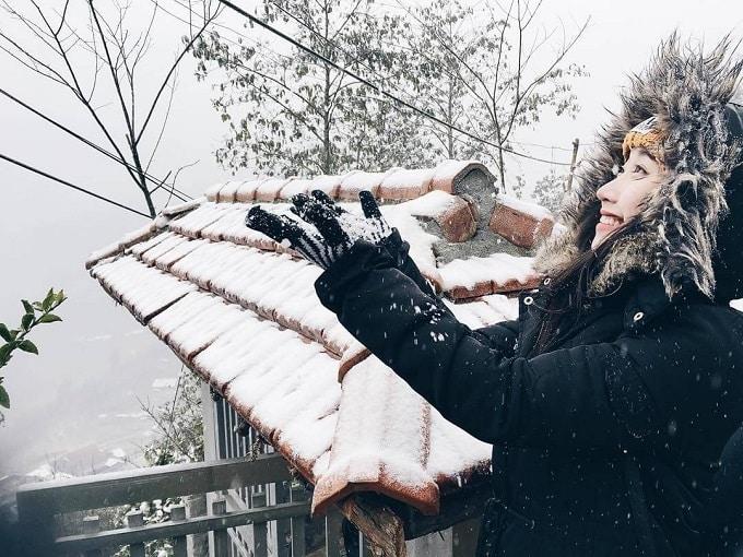 """Tới Sa Pa để ngắm """"Thiên đường tuyết rơi"""""""