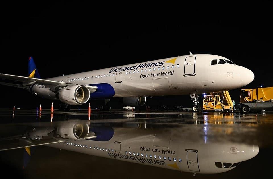 Vietravel Airlines chào đón chiếc máy bay đầu tiên