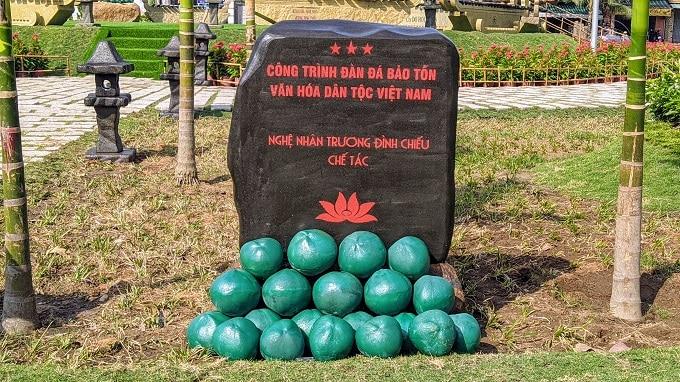Công trình đàn đá bảo tồn văn hóa dân tộc Việt Nam