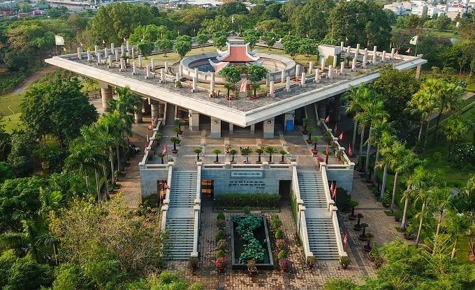 Đền tưởng niệm các vua Hùng lớn nhất Nam Bộ ở thành phố Thủ Đức