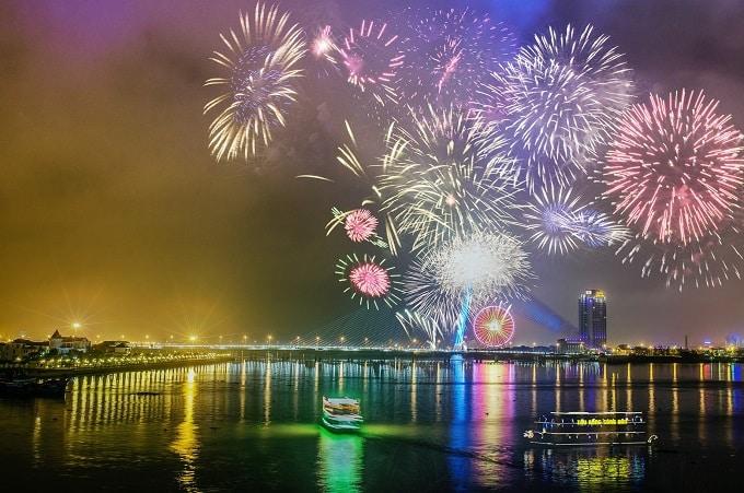 Địa điểm bắn pháo hoa đón giao thừa Tết Nguyên Đán Tân Sửu 2021 tại Đà Nẵng