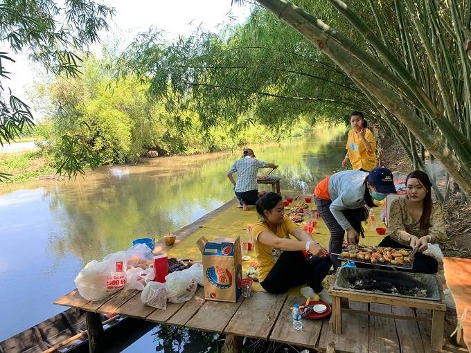 Trải nghiệm dã ngoại BBQ thú vị tại Bamboo Garden Hậu Giang