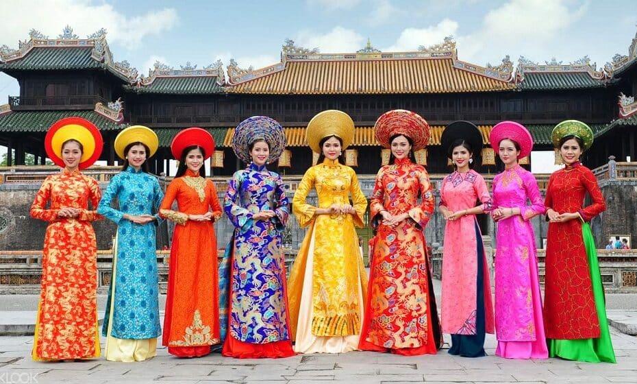 Các điểm Di tích tại Huế miễn phí vé tham quan cho du khách mặc áo dài truyền thống dịp 8.3