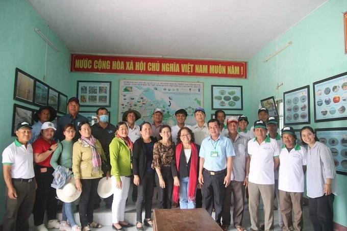 Các thành viên tham gia chuyến tham quan, học tập tại Quảng Nam - Đà Nẵng
