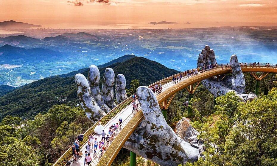 Cầu Vàng Đà Nẵng được báo Anh xếp vào Danh sách Kỳ Quan Mới của Thế Giới