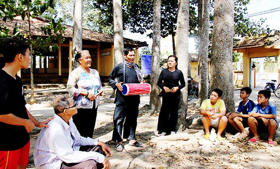 Hát sắc bùa Phú Lễ - Di sản văn hóa phi vật thể cấp quốc gia tại Bến Tre