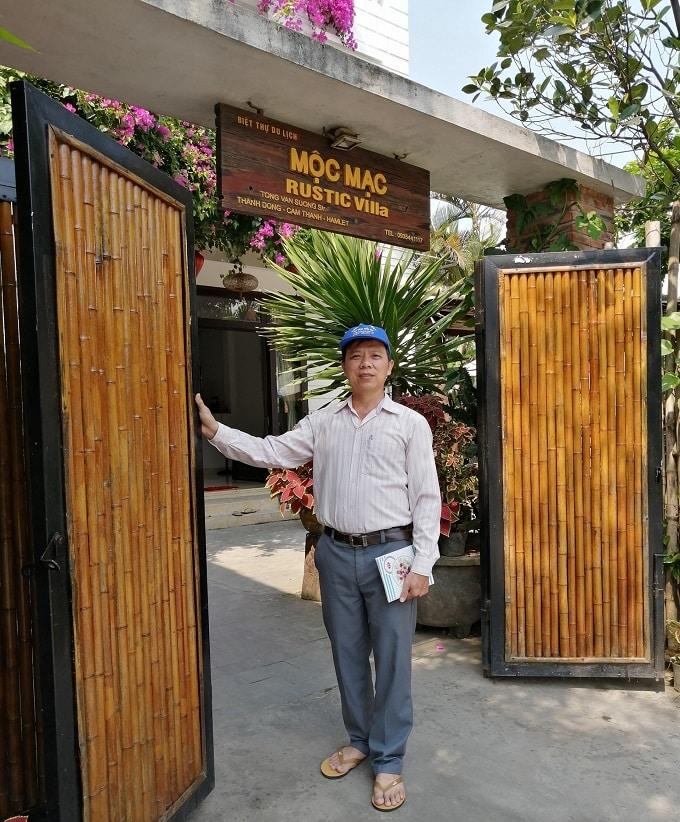 Mộc Mạc - Rustic Villa, thôn Thanh Đông điểm đến lưu trú hấp dẫn cho du khách - Ảnh LT