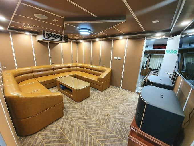 Phòng hội nghị tàu cao tốc Mai Linh Express