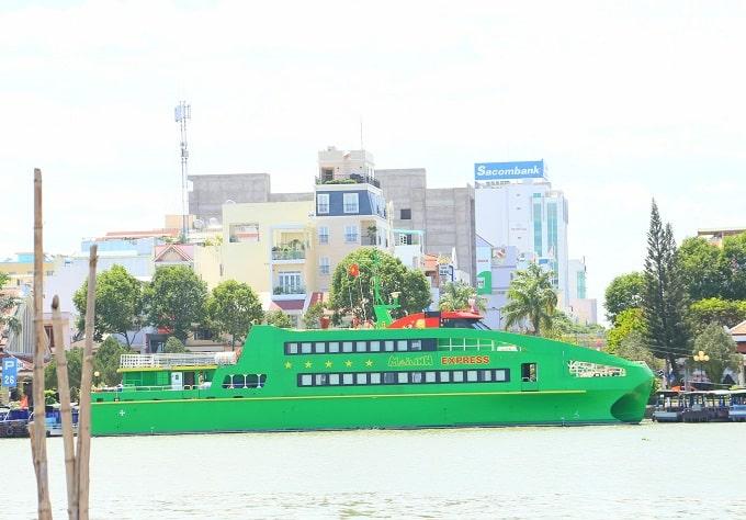 Tàu cao tốc Mai Linh Express sẽ chính thức đưa vào vận hành phục vụ hành khách đi lại và du lịch tuyến Cần Thơ - Côn Đảo vào ngày 21/04/2021