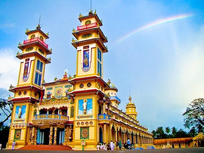 Tòa thánh Tây Ninh - Công trình kiến trúc tâm linh độc đáo