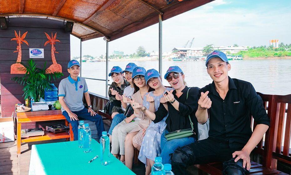 Tour tham quan thành phố Bến Tre trên sông