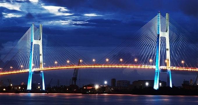 Cầu Mỹ Thuận - Cây cầu dây văng đầu tiên của Việt Nam