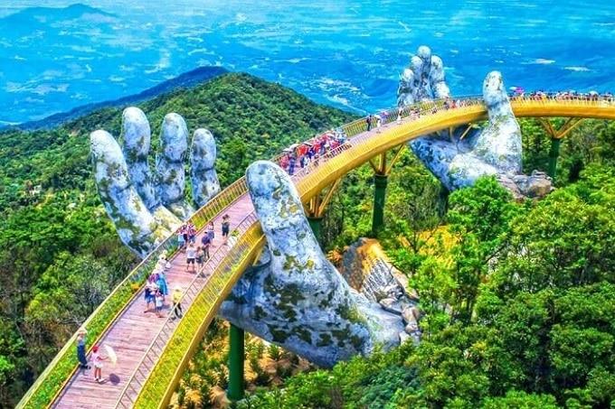 Cầu Vàng Đà Nẵng - Kỳ quan thế giới mới