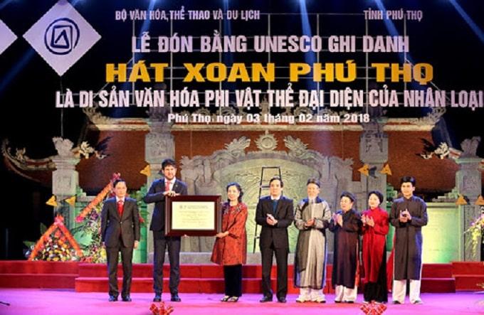 """""""Hát Xoan Phú Thọ"""" – Di sản văn hóa phi vật thể đại diện của nhân loại"""