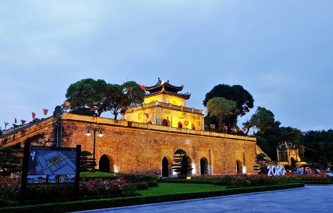 Hoàng thành Thăng Long được UNESCO công nhận là di sản văn hóa thế giới từ năm 2010