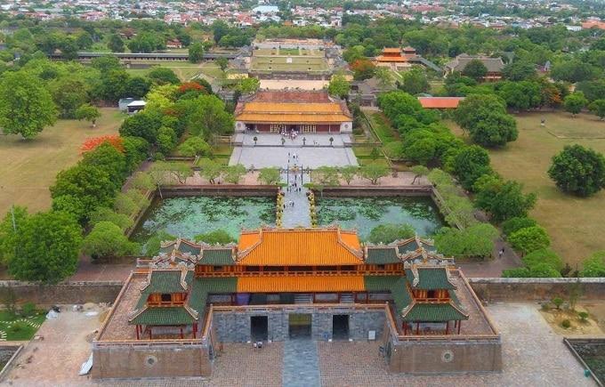 Quần thể di tích cố đô Huế được UNESCO công nhận là Di sản Văn hóa thế giới năm 1993